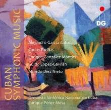 Cuban Symphonic Music, CD