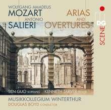 Wolfgang Amadeus Mozart (1756-1791): Arien & Ouvertüren, 2 SACDs