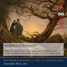 Robert Schumann (1810-1856): Werke für Klavier 4-händig, SACD