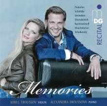 Kirill Truossov - Memories, CD