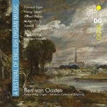 Ben van Oosten - A Festival of English Organ Music Vol.2, CD