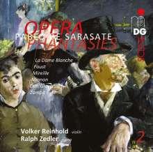Pablo de Sarasate (1844-1908): Opern-Fantasien für Violine & Klavier Vol.2, SACD