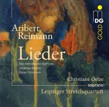Aribert Reimann (geb. 1936): Lied-Transkriptionen, CD