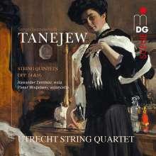 Serge Tanejew (1856-1915): Streichquintette opp.14 & 16, CD