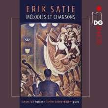 """Erik Satie (1866-1925): Lieder """"Integrale des Melodies et Chansons"""", CD"""