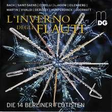 Die 14 Berliner Flötisten - L'Iverno degli flauti, CD