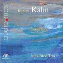 Robert Kahn (1865-1951): Klaviertrios opp.19 & 33, SACD