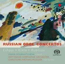 Maria Sournatcheva - Russian Oboe Concertos, SACD
