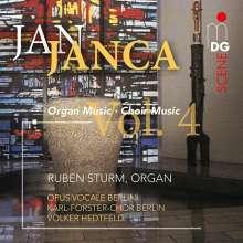 Jan Janca (geb. 1933): Orgelwerke & Chormusik Vol.4, CD
