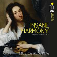Insane Harmony - English Music 1650-1700, CD