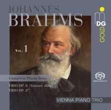 Johannes Brahms (1833-1897): Klaviertrios Vol.1, SACD