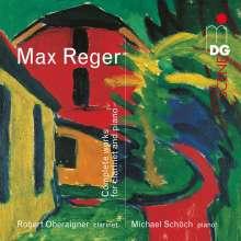 Max Reger (1873-1916): Sämtliche Werke für Klarinette & Klavier, Super Audio CD