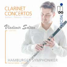 Vladimir Soltan - Clarinet Concertos, SACD