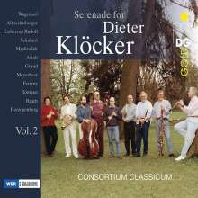 Dieter Klöcker - Serenade for Dieter Klöcker Vol.2, 4 CDs