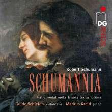 """Robert Schumann (1810-1856): Werke für Cello & Klavier """"Schumannia"""", Super Audio CD"""