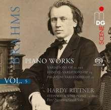 Johannes Brahms (1833-1897): Klavierwerke Vol.5, Super Audio CD