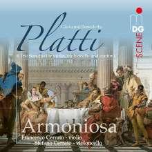 Giovanni Benedetto Platti (1697-1763): 6 Triosonaten, SACD