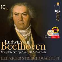 Ludwig van Beethoven (1770-1827): Streichquartette Nr.1-16, 10 CDs