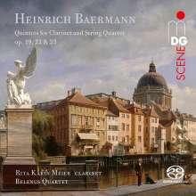 Heinrich Josef Baermann (1784-1847): Klarinettenquintette opp.19,22,23, SACD
