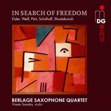 Berlage Saxophone Quartet - In Search of Freedom, SACD