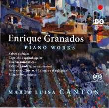 Enrique Granados (1867-1916): Klavierwerke, SACD