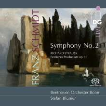 Franz Schmidt (1874-1939): Symphonie Nr.2, SACD