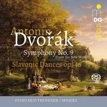 Antonin Dvorak (1841-1904): Symphonie Nr.9 für Klavier 4-händig, SACD
