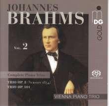 Johannes Brahms (1833-1897): Klaviertrios Vol.2, SACD
