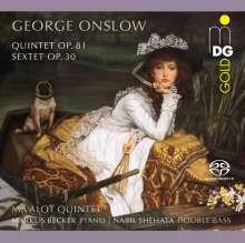 Georges Onslow (1784-1852): Die Kammermusik für Bläser, SACD