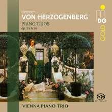 Heinrich von Herzogenberg (1843-1900): Klaviertrios Nr.1 & 2 (op.24 & 36), Super Audio CD