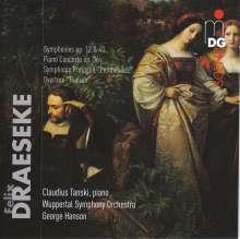 Felix Draeseke (1835-1913): Symphonien Nr.1 & 3 (opp.12 & 40), 2 CDs