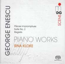 George Enescu (1881-1955): Klavierwerke, Super Audio CD