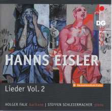 Hanns Eisler (1898-1962): Lieder Vol.2, CD