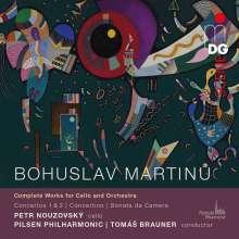 Bohuslav Martinu (1890-1959): Sämtliche Werke für Cello & Orchester, 2 CDs