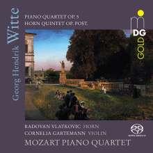 Georg Hendrik Witte (1843-1929): Klavierquartett op.5, Super Audio CD
