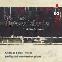 Galina Ustvolskaya (1919-2007): Sonate für Violine & Klavier, CD