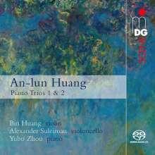 An-Lun Huang (geb. 1956): Klaviertrios Nr.1 & 2, SACD