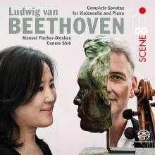 Ludwig van Beethoven (1770-1827): Cellosonaten Nr.1-5, 2 SACDs