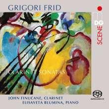 Grigori Frid (1915-2012): Klarinettensonaten Nr.1-3, SACD