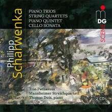 Philipp Scharwenka (1847-1917): Kammermusik, 2 CDs