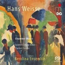 Hans Weisse (1892-1940): Klarinettenquintett fis-moll, SACD