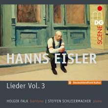 "Hanns Eisler (1898-1962): Lieder Vol.3 ""Songs in American Exile 1938-1948"", CD"