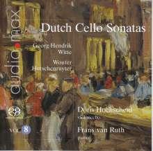 Doris Hochscheid - Dutch Sonatas für Cello & Klavier Vol.8, Super Audio CD