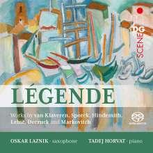 Musik für Saxophon & Klavier - Legende, SACD