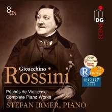 """Gioacchino Rossini (1792-1868): Klavierwerke aus """"Peches de vieillesse"""", 8 CDs"""