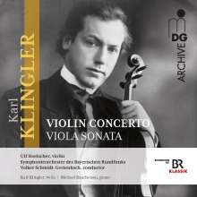 Karl Klingler (1879-1971): Violinkonzert E-Dur, CD