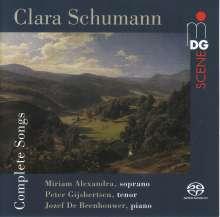 Clara Schumann (1819-1896): Sämtliche Lieder, SACD