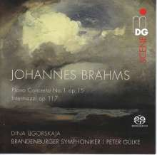 Johannes Brahms (1833-1897): Klavierkonzert Nr.1, SACD
