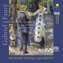 Gabriel Faure (1845-1924): Klavierquartette Nr.1 & 2, SACD
