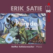 Erik Satie (1866-1925): Klavierwerke Vol.6, CD